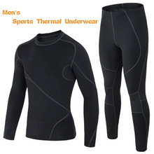 WaKa Outdoor Winter Sports Fleece Thermal Underwear Men Brand Sportswear Athletic Mens Suits Long Johns, Keep Warm,Breathable(China (Mainland))