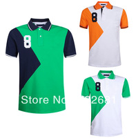 Freeshipping,Fashion Brand Men's Summer Short Sleeve Tee ,Casual Slim Fit Design Men's T Shirts ,Drop shipping,Wholesale&Retail