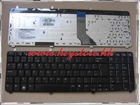 New US keyboard For HP PAVILION  DV7  DV7-2000 DV7-3000 GLOSSY BLACK NSK-H8W01 9J.N0L82.W01 AEUT5U00010