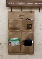 Door after the bag wall hanging storage bag zakka storage bag