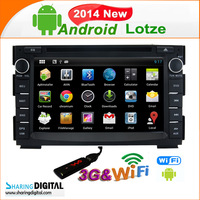 Sharing Digital KIA Lotze( 2005-2010) android 4.2 CAR DVD SYSTEMS WITH WIFI 3G Kia-7678GDA    1080P high resolution