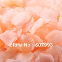 Champagne Silk Rose Petals, Artificial Rose Petals for Wedding party ,aisle decoration fabric flower 4000pcs/lot Free Shipping
