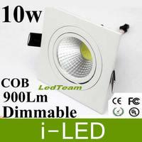 Free FedEx COB 10W LED Ceiling Downlight Recessed Led Lights For Home Led Spot Light Bulb Lamp warm cool white 90-260v CE SAA UL