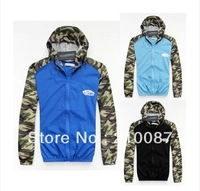 hip hops skateboard assault amouflage hooded windbreaker men and women couple models Hooded  jacket