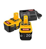 2 PACKS Brand-New Genuine Ryobi BPP-1817M P100 One+ 18V NiCd Battery 2.0Ah + USED CHARGER 240V