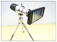 Free shipping  for iPhone5 lens Mobile Phone lens 16X Zoom Camera Lens with Tripod Holder ( Telescope Long Focal)