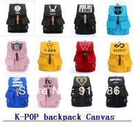 K-pop kpop Korean stars sj super junior school bag rucksack with size 44*13*33cm backpack