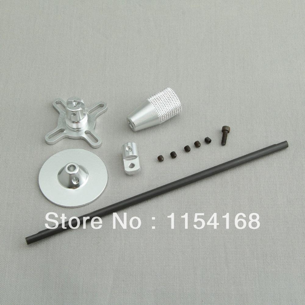 Gps Folding Antenna Mount Holder Silver For Any Dji F450 550 Tarot Quad