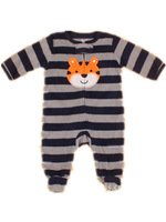 Brand Carter's Baby boy's infantil stripe tiger footed pajamas & play