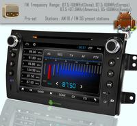 Android 4.1 For SX4 Suzuki Headunit GPS Navigation Car PC Multimedia dual Core WIFI 3G