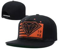 Hot sale !New Style Adjustable DIAMOND Snapback Caps Rolling Hand ,men women sun sades hat 14 color,retail free shipping