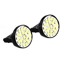 10pcs/ lot T20 22 LED 1206 3020 SMD Light Bulbs 7443 7440 direction indicator lamp backup light white 12V 22led 22 smd 22smd led