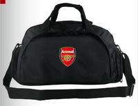 Free shipping new 2014 league arsenal football bag sports bag fans double-shoulder bag back football shoes bag independent shoes