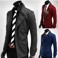 2014 spring new men's clothing blazer jacket coat fashion casual men suit Plus Size business solid  overcoat men clothes blazers
