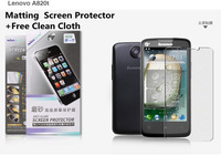 10 PCS/lot  Free Shipping  Matting Screen Protector+Free Clean Cloth   for Lenovo A820T Film/Screen Protector