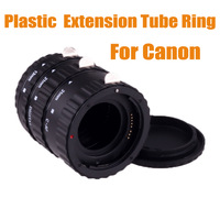 AF Auto Focus Plastic Macro Extension Tube Ring Set lens adapter  for Canon EOS EF EF-S 500D 550D 600D 650D 60D - Free Shipping