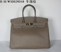 New arrival !high-quality women Togo Silver leather handbag