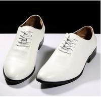 Men's fashion lace wedding shoes casual shoes free shipping toe head