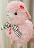 Arpakasso alpaca soft doll 44cm plush toys christmas series  stuffed animal doll for baby car docoration
