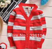 Spring autumn new 2014 brand baby clothing boys cardigan kids outerwear clothes children sweater Free shipping