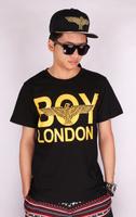 Hot!! 2014 New Fashions London boy eagle letters Lover Short Sleeve cotton T shirts Flag tops Freeshipping john john