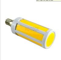 E14 LED Lights COB 8W SMD 7 Intergrated Chips E27|B22 Corn Bulb bedroom kitchenLamp Warm|Cold White 110V 220V Free Shipping