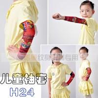 2014 Kid's Club, New Children Carton Tattoo Sleeves, 100pcs wholesale,Teenager Arm Warmers, Free Shipping !