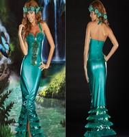 New 2014 sexy dress Mermaid evening party dresses cosplayhalloween women dress summer/autumn/winter/spring skirts