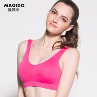 2014 new multi color Young girl underwear vest bras thin sports women sporting running bra