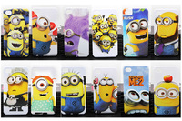 Despicable Me Cartoon Series Hard PC phone case back cover for Iphone 4 4s