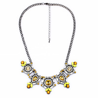 vintage jewelry 2014 Newest Necklace Fashion Jewelry Brunet Department Statement Necklace Choker Crystal Necklaces & Pendants