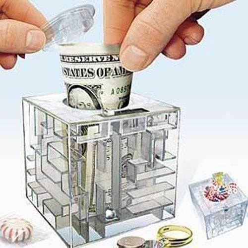 Online kopen Wholesale transparante spaarpot uit China transparante