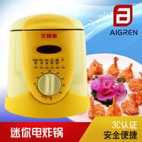 Etam multifunctional frying pan household mini electric deep fryer small frying machine fried chicken air