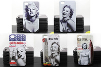 for iPhone 4 cases back cover Marilyn Monroe for apple iphone4  hard fashion new design 1 piece free shipping