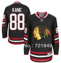 2014 Stadium Series Chicago Blackhawks Jersey #88 Patrick Kane New Season black Ice Hockey Jerseys wholesale(China (Mainland))