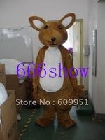 Fashion Kangaroo mouse mascot costume adult size Free shipping