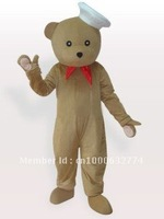 Bear Chef Adult Mascot Costume Animal carnival costume Halloween Dress kids party