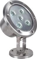 Single Color 3pcs/lot 5W High Power IP68 Waterproof LED Underwater Lamp Underwaterlight Two Years Warranty