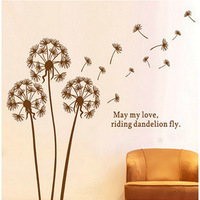 New 2014 Plant Wall Sticker Creative Home Decor Fashion Home Decoration DIY Family Stickers Free Shipping