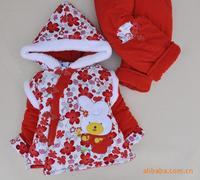 Free shopping Female child baby clothes set