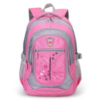 Primary school students school bag girls double-shoulder male child school bag burdens 3 - 4-6 8006
