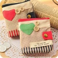 Women's Fashion Fold Love Short Wallet Purse Pouch Money/Card Purse Holder