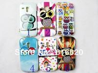 1 x Super Cute OWL TPU back Case for Samsung Galaxy SIII S3 Mini i8190