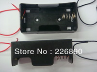 samples support battery holder /box /case of LR20/D ,one position with two wires ,50pcs /lot