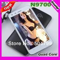 "SG Post free ship Ultra Slim Quad Core phone Star N9700 5"" IPS RAM1GB MTK6582M 1.3Ghz smart phone + free case +OTG cable free"