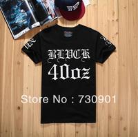 2014 male fashion  short-sleeve T-shirt mnwka new fashionable street shirt skateboard hiphop style short shirt