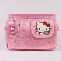 Retail Children School Bags School Kids Bags Hello Kitty Brand Girls Messenger Bag Cartoon Animal Bags Gift For Children KT7908