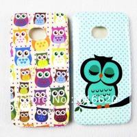 1 x Super Cute OWL TPU Gel Skin Back Case Cover for HTC ONE M7