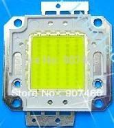5pcs/1lot 50W LED Integrated High Power Lamp Beads White/Warm white 1200mA 32-34V 4200-4500LM 24*40mil Aluminum bracket