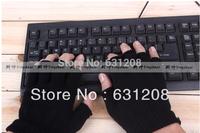 half finger sport gloves meia luvas de dedo desporto medio dedo guantes del deporte black gloves half guantes man free size luva